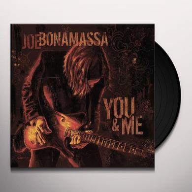 Joe Bonamassa YOU & ME Vinyl Record - Gatefold Sleeve