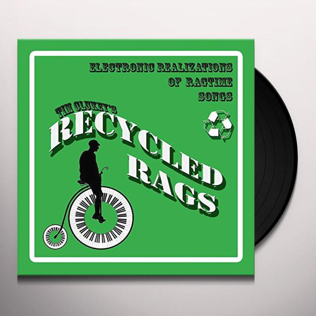 Tim Clukey RECYCLED RAGS Vinyl Record