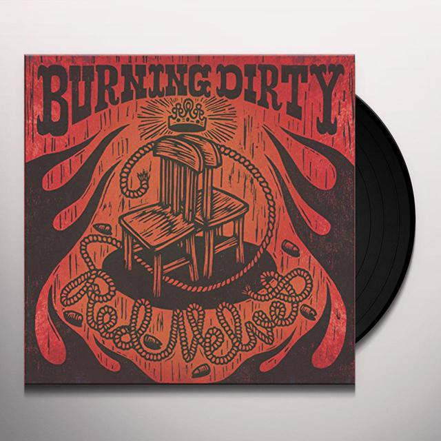 BURNING DIRTY RED VELVET Vinyl Record