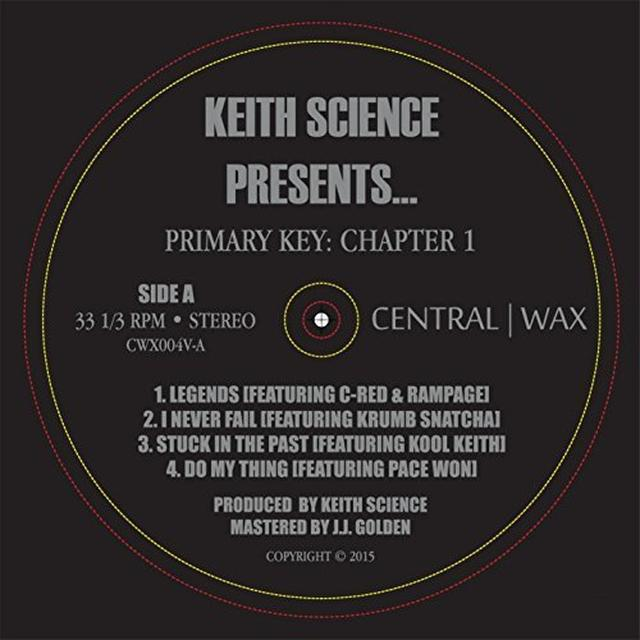 Keith Science PRIMARY KEY: CHAPTER 1 Vinyl Record