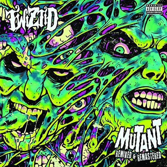 Twiztid MUTANT REMIXED & REMASTERED Vinyl Record