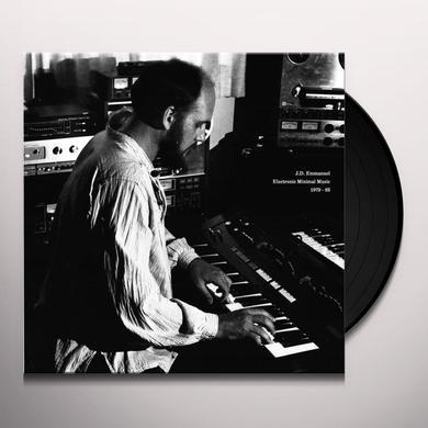 J.D. Emmanuel ELECTRONIC MINIMAL MUSIC 1979-83 Vinyl Record