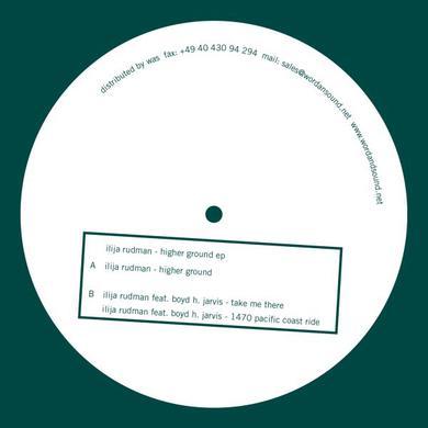 Ilija Rudman HIGHER GROUND Vinyl Record