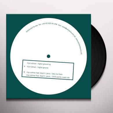 Ilija Rudman HIGHER GROUND (EP) Vinyl Record