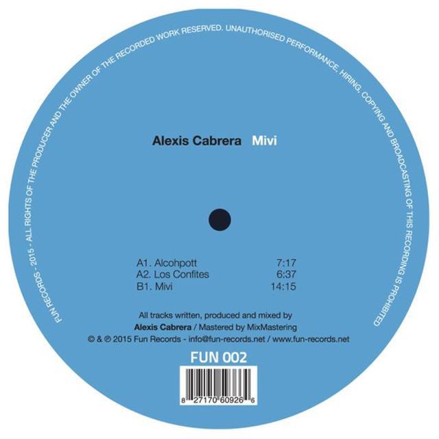 Alexis Cabrera MIVI Vinyl Record