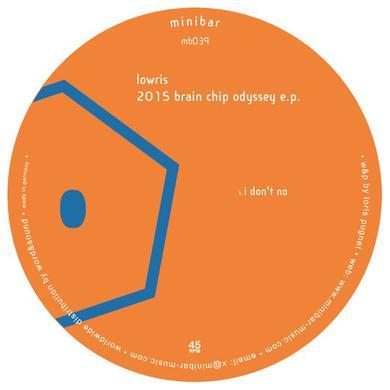 LOWRIS 2015 BRAIN CHIP ODYSSEY Vinyl Record