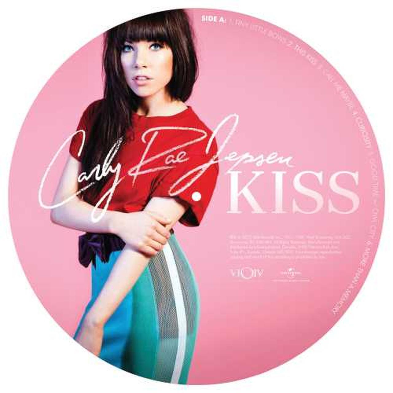 Carly Rae Jepsen KISS Vinyl Record