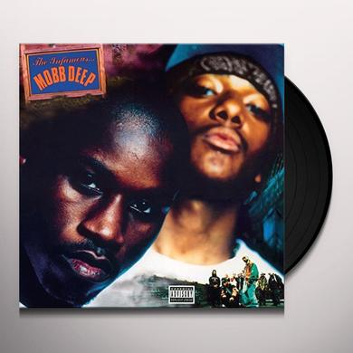 Mobb Deep INFAMOUS Vinyl Record - Gatefold Sleeve