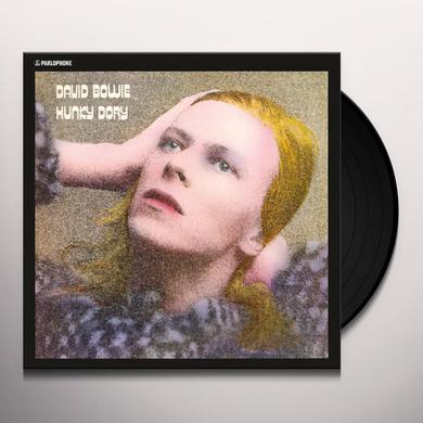 David Bowie HUNKY DORY Vinyl Record - 180 Gram Pressing
