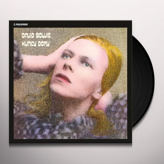 David Bowie HUNKY DORY Vinyl Record - 180 Gram Pressing