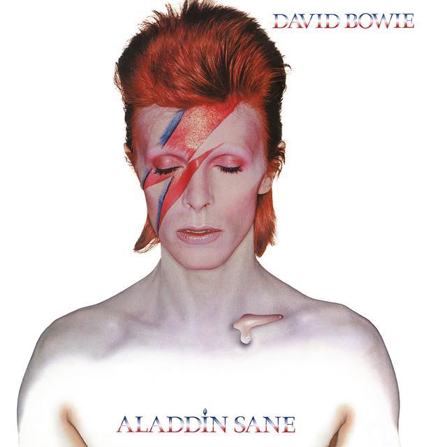 David Bowie ALADDIN SANE Vinyl Record - 180 Gram Pressing