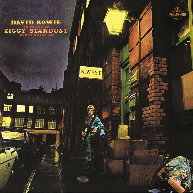 David Bowie RISE & FALL OF ZIGGY STARDUST & SPIDERS FROM MARS Vinyl Record