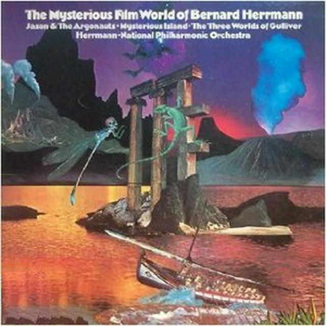 MYSTERIOUS FILM WORLD OF BERNARD HERRMANN / O.S.T. Vinyl Record