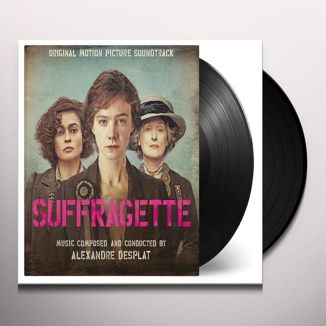 Alexandre Desplat SUFFRAGETTE / O.S.T. Vinyl Record