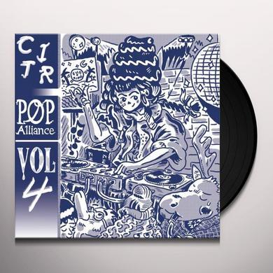 CITR POP ALLIANCE 4 / VARIOUS Vinyl Record - Limited Edition