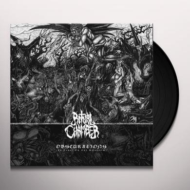 RITUAL CHAMBER OBSCURATIONS (TO FEAST ON THE SERAPHIM) Vinyl Record - Black Vinyl