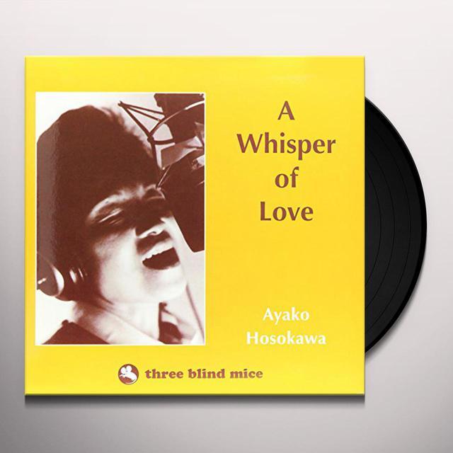 Ayako Hosokawa WHISPER OF LOVE Vinyl Record