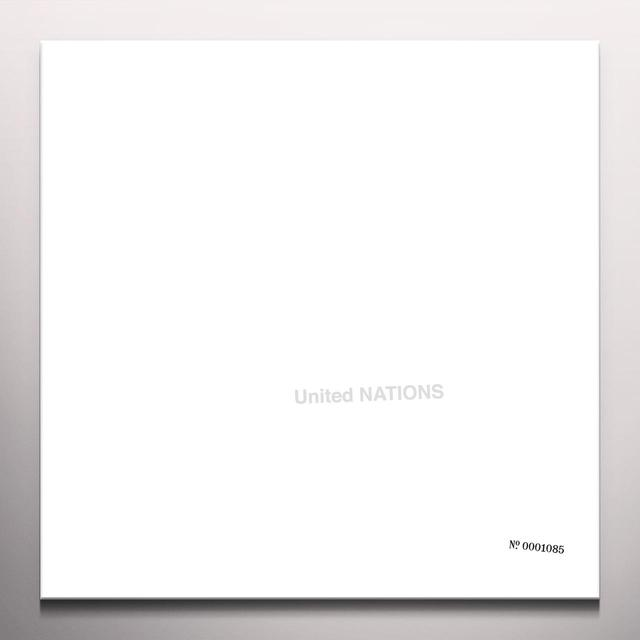 UNITED NATIONS Vinyl Record - Colored Vinyl, White Vinyl