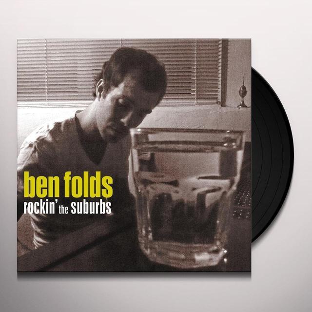 Ben Folds ROCKIN THE SUBURBS Vinyl Record - 180 Gram Pressing