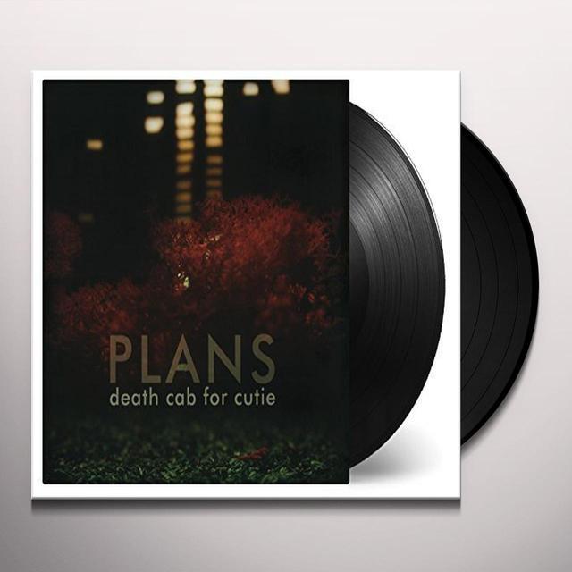 Death Cab For Cutie PLANS Vinyl Record - Holland Import