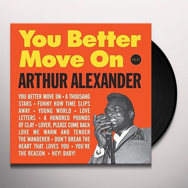 Arthur Alexander YOU BETTER MOVE ON + 2 BONUS TRACKS (BONUS TRACKS) Vinyl Record