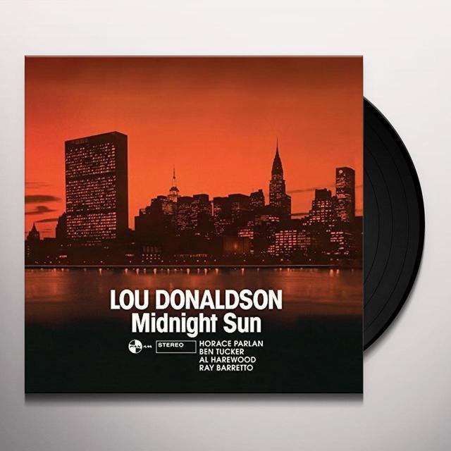 Lou Donaldson MIDNIGHT SUN + 1 BONUS TRACK Vinyl Record
