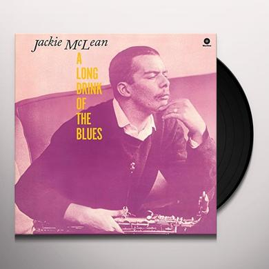 Jackie Mclean LONG DRINK OF THE BLUES Vinyl Record