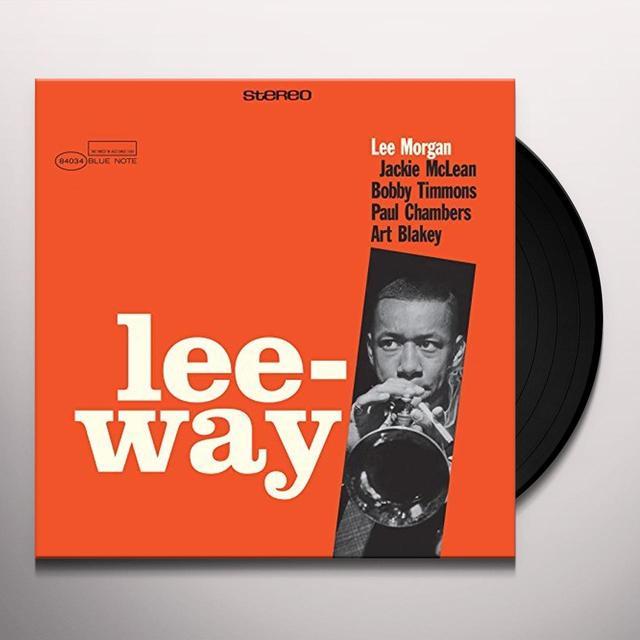 Lee Morgan LEE-WAY Vinyl Record - Spain Import