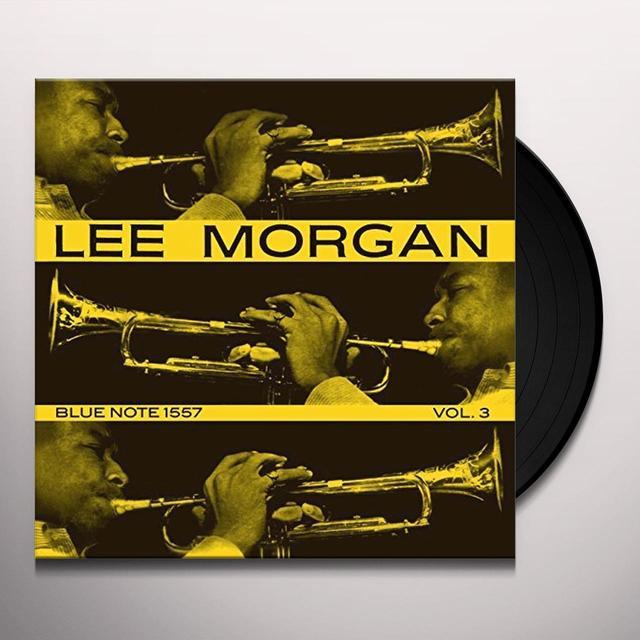Lee Morgan VOL. 3 Vinyl Record - Spain Import