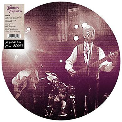 Fairport Convention ACCESS ALL AREAS Vinyl Record