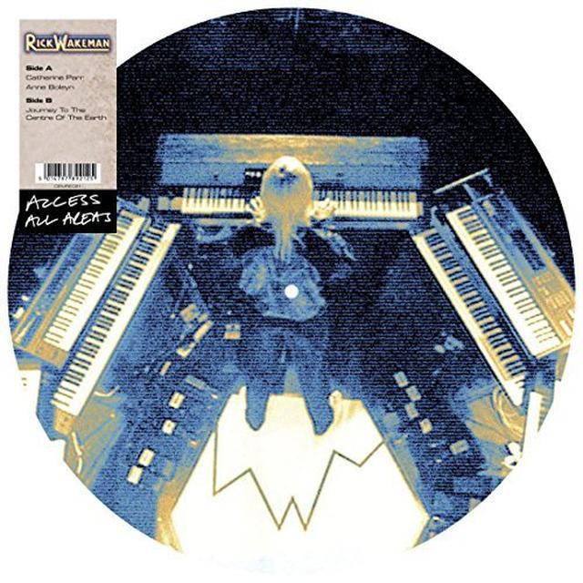 Rick Wakeman ACCESS ALL AREAS Vinyl Record