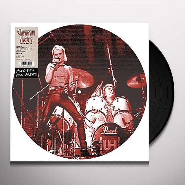 Uriah Heep ACCESS ALL AREAS Vinyl Record - UK Import