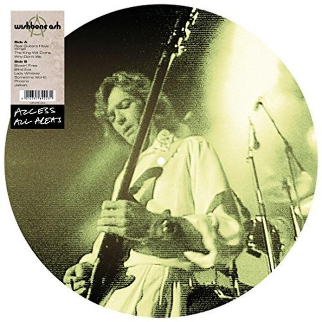 Wishbone Ash ACCESS ALL AREAS Vinyl Record