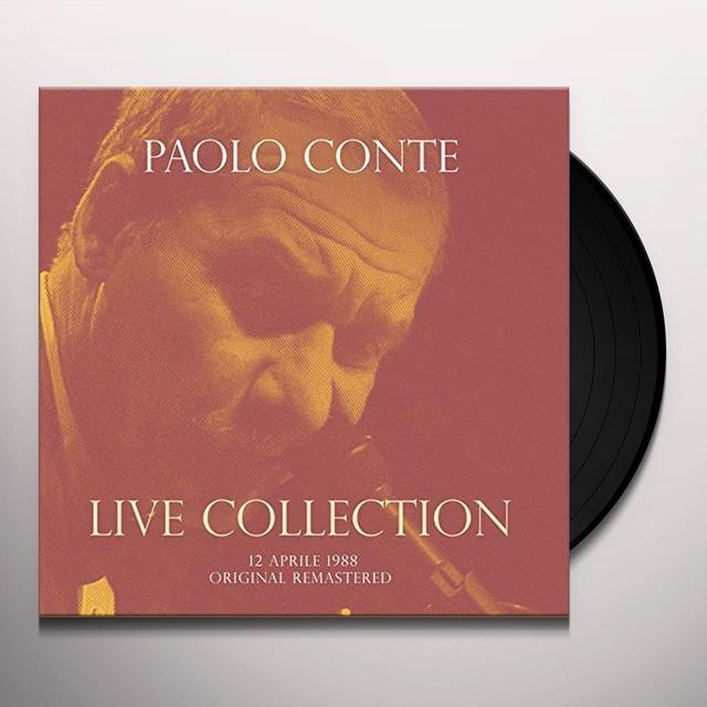 Paolo Conte CONCERTO LIVE AT RSI (12 APRILE 1988) Vinyl Record - Italy Import