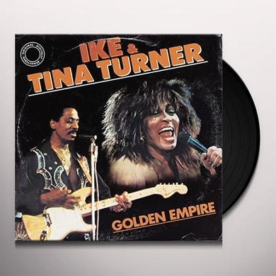 Ike & Tina Turner GOLDEN EMPIRE Vinyl Record - Italy Import
