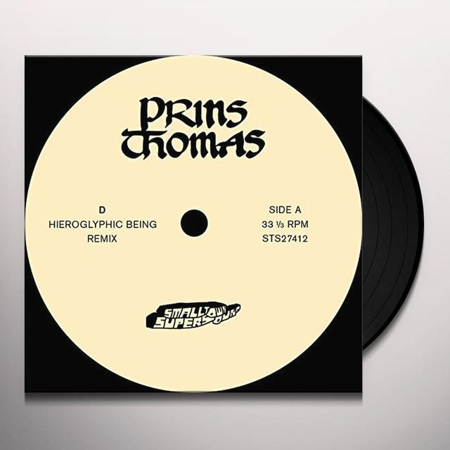 Thomas Prins D: HIEROGLYPHIC BEING REMIXES Vinyl Record - UK Import