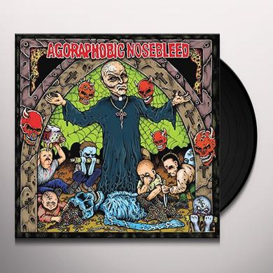 Agoraphobic Nosebleed ALTERED STATES OF AMERICA Vinyl Record - UK Import