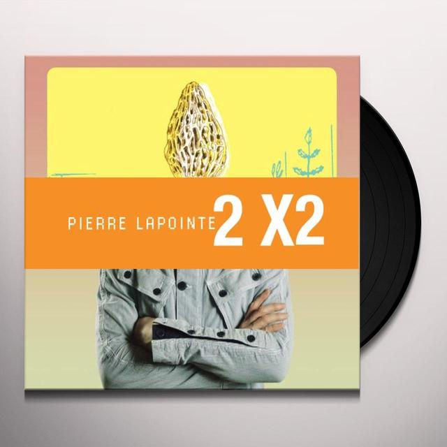 Pierre Lapointe 2 X 2 Vinyl Record - Canada Import