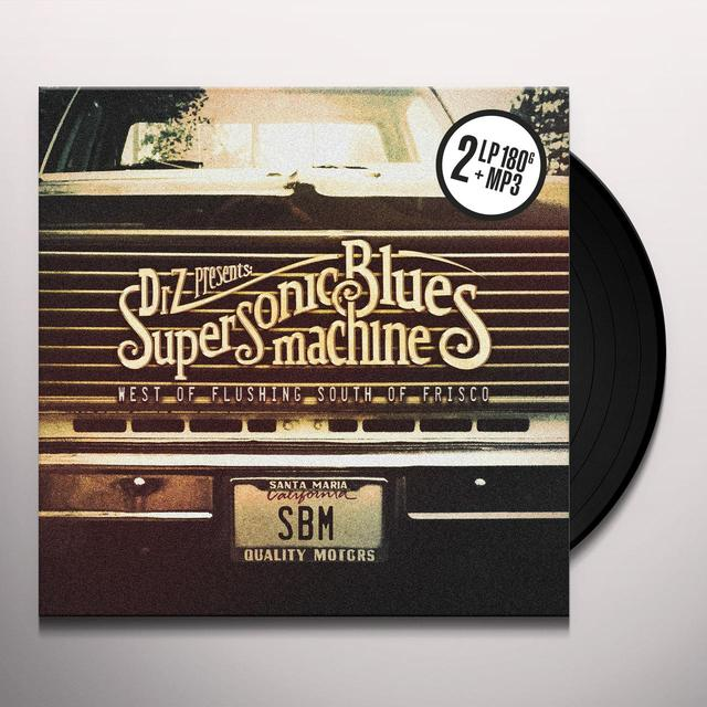 Supersonic Blues Machine WEST OF FLUSHING SOUTH OF FRISCO Vinyl Record - 180 Gram Pressing, Digital Download Included
