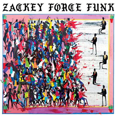 Zackey Force Funk ELECTRON DON Vinyl Record