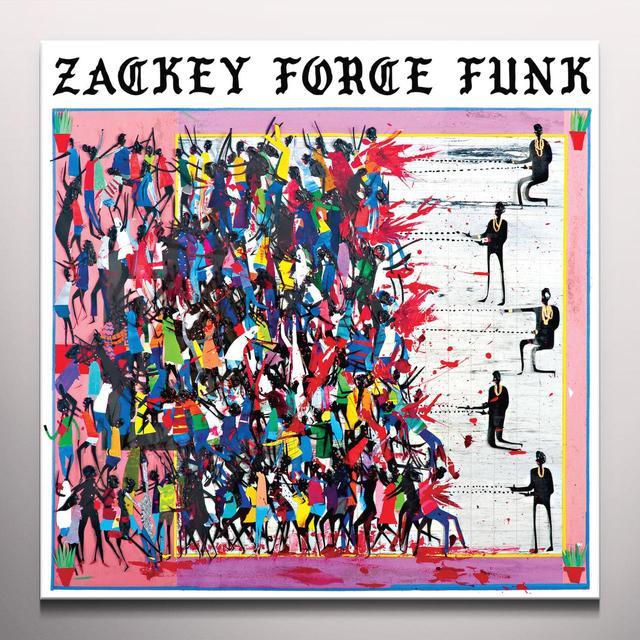 Zackey Force Funk ELECTRON DON Vinyl Record - White Vinyl