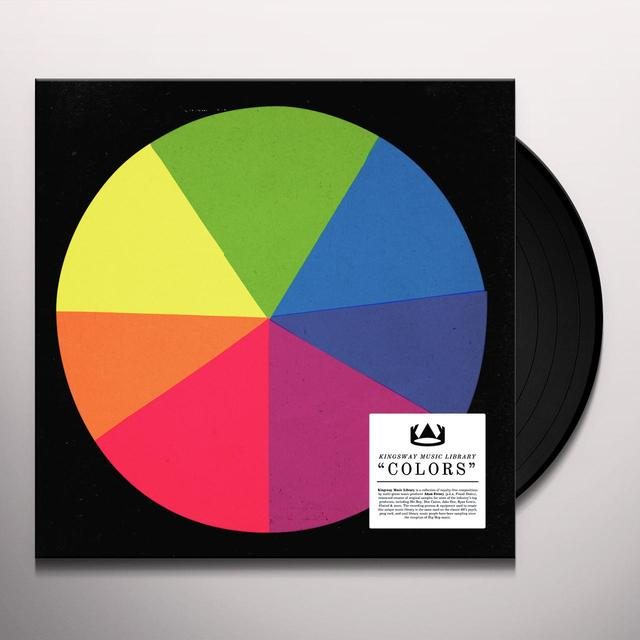 KINGSWAY MUSIC LIBRARY COLORS Vinyl Record