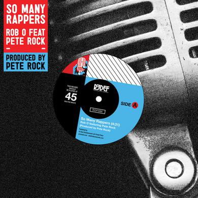 ROB O / PETE ROCK SO MANY RAPPERS Vinyl Record