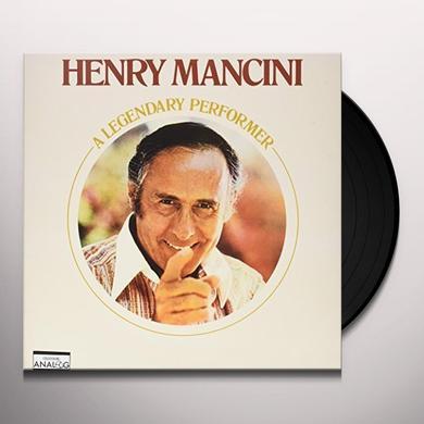 Henry Mancini LEGENDARY PERFORMER Vinyl Record