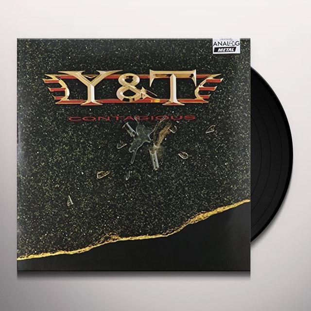 Y&T CONTAGIOUS Vinyl Record