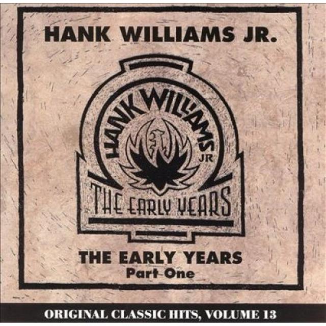 Hank Williams, Jr. EARLY YEARS Vinyl Record