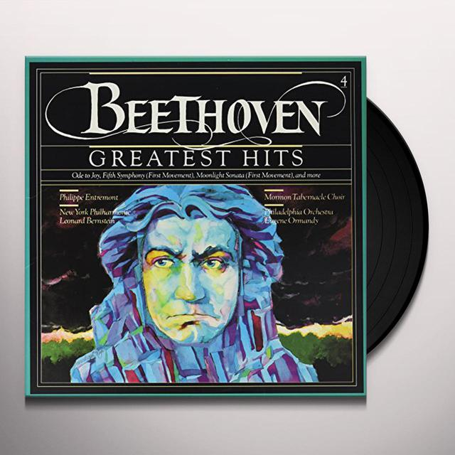 Beethoven GREATEST HITS - ODE TO JOY FIFTH SYMPHONY (FIRST) Vinyl Record