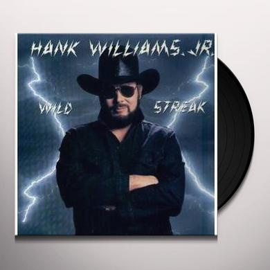 Hank Williams, Jr. WILD STREAK (IF THE SOUTH WOULDA WON) Vinyl Record