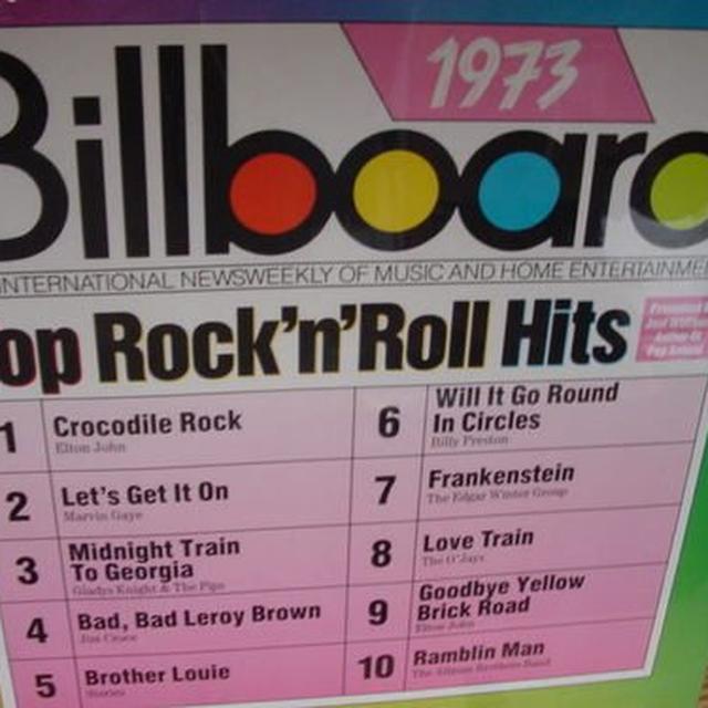 BILLBOARD TOP R&R HITS 1973 / VARIOUS Vinyl Record