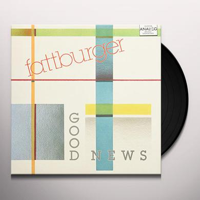 Fattburger GOOD NEWS Vinyl Record